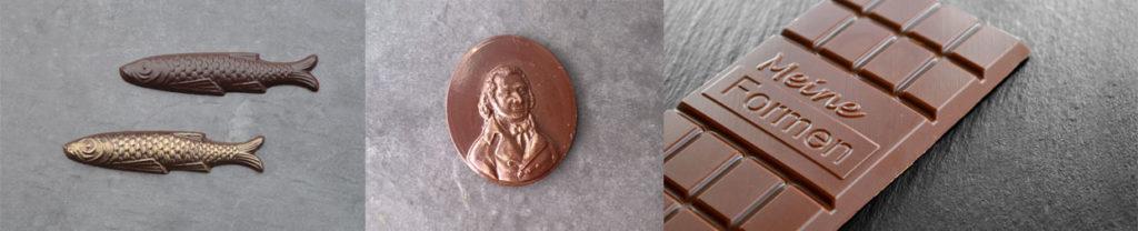 Wir produzieren Schokoladenformen nach Ihren Vorstellungen