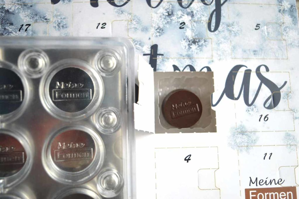 Chocolate advent calendar with your own logo and motif